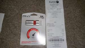 PNY Wave Attache USB 3.0/2.0 64GB instore £9.97 @ Currys