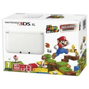 White Nintendo 3DS Xl with Super Mario 3D Land - Limited Edition.... £135 @ Tesco instore!!