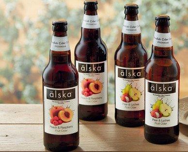 Alska Swedish Fruit Cider(Kopparberg Alternative) £1.49 each @ Aldi