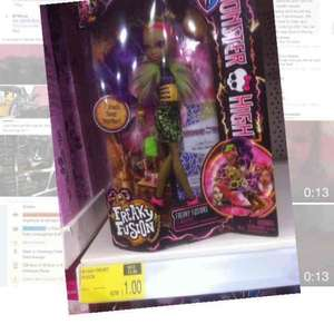 Monster high fusion frenzy doll £1.00 @ B&M instore