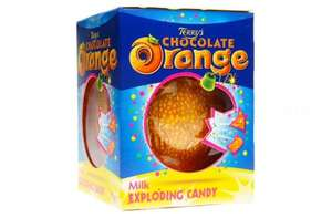 Terry's Chocolate Orange (Milk, Dark, Honeycomb, Exploding Candy etc) all Only 99p each @ QD Stores (Instore)