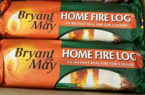Bryant and May self lighting logs 5 for £4.00 @ Charlies Direct