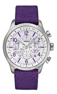 Versus by Versace Men's Soho SGL06 0013 Chronograph Round Dial Watch Purple  £24.99 argos on ebay