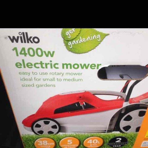 Wilko 1400w lawn mower £25