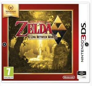 (Nintendo 3DS) The Legend Of Zelda: A Link Between Worlds / Yoshi's New Island / Mario Party Island Tour / Mario Tennis Open 3DS / Star Fox 64 3D - £15.99 Each - 365Games