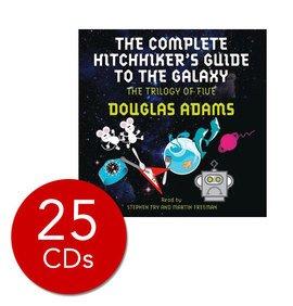 [CD] Douglas Adams Hitchiker's Guide Audio Set - 25 CD's £12.99 @ The Book People