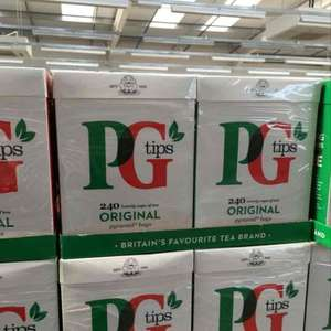 £2.95 for 240 Pg Tips teabags @ Farmfoods