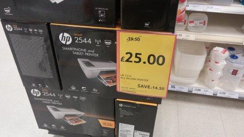 hp deskjet 2544 wireless printer £25 @ Tesco (Derry)