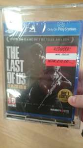 The Last of Us Remastered PS4 £10 instore Asda