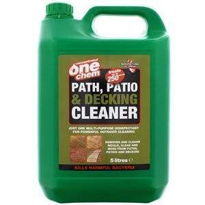 One Chem Path and Patio Cleaner - 2.5 litre - Home Bargains - £2.99