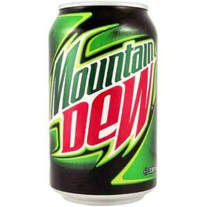 24 cans of Mountain Dew for £11.34 after entering coupon code NK15 at checkout