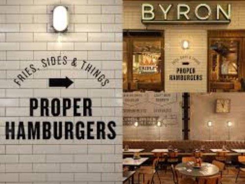 Byron burger for 25p on 6th october at Byrons proper Hamburger