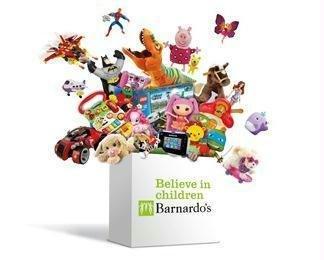 Barnardos/Argos toy exchange £5 voucher for every to donation.