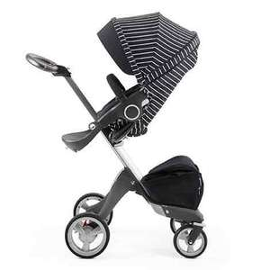 Stokke Xplory v4 Limited Edition Black and White Stripe, Mothercare - £600