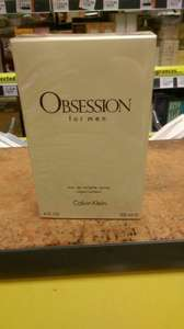 125ml CK obsession for men £25 @ Savers