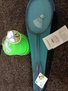 Badminton set reduced to 50p and monster feet stilts £1 instore Wilko