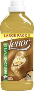 Lenor Gold Orchid Fabric Conditioner 72 Washes (1.8L) was £5.98 now £2.50 (Rollback Deal) @ Asda