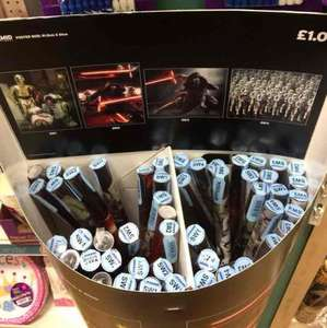 Star Wars The Force Awakens posters £1 poundland