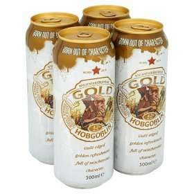 4x 500ml cans of Hobgoblin Gold only £3.50 at Asda