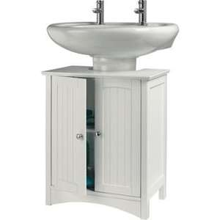 White.Tongue and Groove Under Sink Storage Unit  £24.99 C&C @ Argos