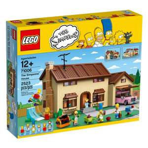 Lego Simpsons House £171 (+ £47.50 back in points) @ Pixel Electronics with code BDAY10