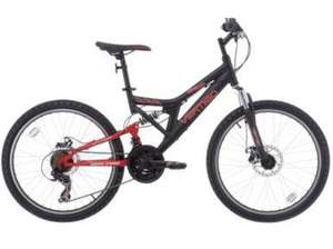 "** Vertigo Eiger 26"" Dual Suspension Mountain Bike, 18"" or 16"" Frame now only £50 @ Tesco Direct (Free CnC) **"