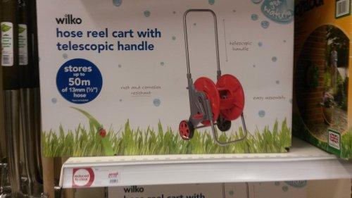 wilkinsons hose reel cart only £3 instore, newcastle