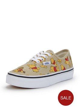 girls winnie the pooh vans £16.72 @ littlewoods