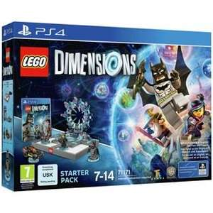 Lego Dimensions on PS4/XBone Fast Track collect from Argos - £84.99 (with TCB works out at about £79.04 (ish) after cashback!)