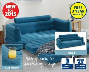 Inflatable Pull-Out Sofa Only £34.99 @ Aldi