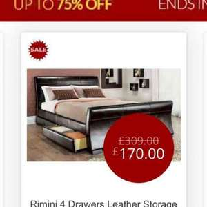 Massive sale up to 70% off beds @ Beds.co.uk