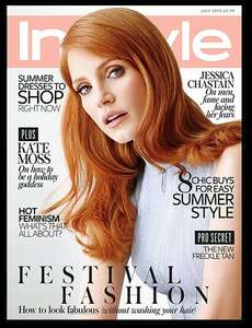Free issue of Instyle Magazine (normally £3.99)