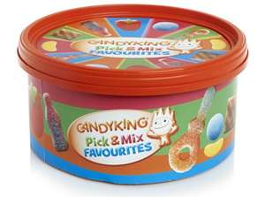** Candyking Sharing Tub with Pick & Mix Favourites 840g now only £2 @ Wilko (Free CnC) **