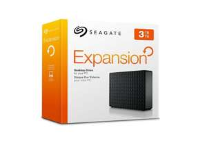 Seagate Expansion 3TB USB 3.0 Desktop 3.5 inch Hard Drive £69.99 @ Amazon (Lightning Deal)