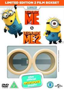 (Banana!) Despicable Me/Despicable Me 2 DVD (With official Minion Goggles) - £5.60 With code - Zoom