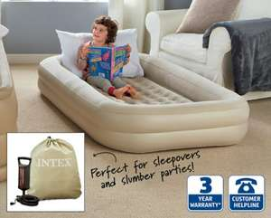 Intex Kids Travel Air Bed Set £19.99 @ Aldi from 8th October