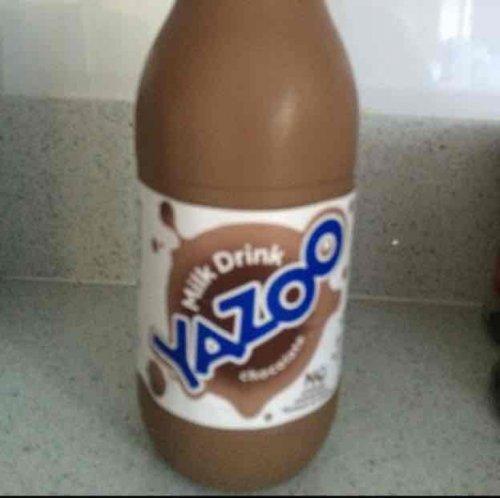 one litre Yazoo chocolate milk. 39p at Heron foods