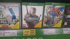 The Witcher 3 for Xbox One, £32.00 instore at Tesco Extra in Durham