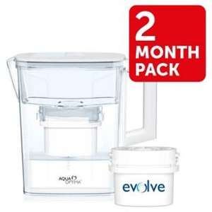 Aqua Optima Compact Water Filter and Jug £5.49 @ Argos