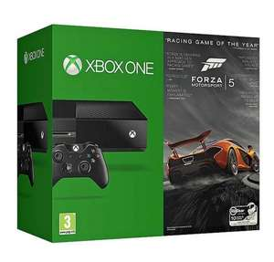 Refurbished Microsoft Xbox One 500GB Gaming Console Referb Plus Forza Motorsport 5 Game Bundle £259 Free P&P @ tesco-outlet / ebay