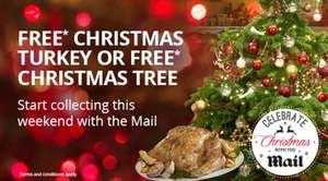 Free Turkey or Xmas Tree with the Mail Starts 3rd October