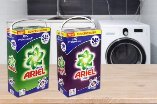 Ariel Actilift or Ariel Colour Washing Powder, 245 washes £28.98 @ Wowcher
