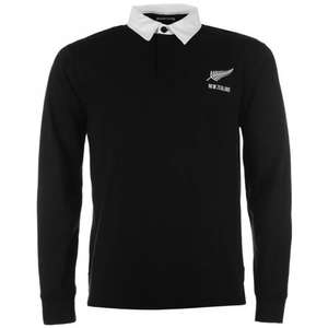 RWC New Zealand/Scotland/Wales/Australia Long Sleeve Rugby Shirt Mens £9 + £4.99 sports direct