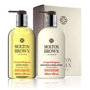 £15 off £30 spend + Free Click and Collect + Free 30ml sample with every order + Free gift box @ Molton Brown