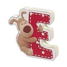 Boofle wooden letters Instore 39p @ Home bargains