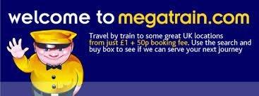 £1 Train tickets e.g. London - Bath £1 & then Bath - London £1 @ Megatrain.com