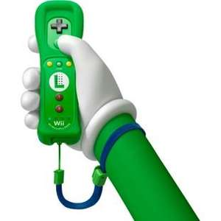 Nintendo Wii U Remote Plus Controller: Luigi Edition - £24.80 Delivered - Amazon.com