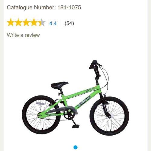 """Terrain Venom 20"""" Kids BMX Bike £32 @ Tesco"""