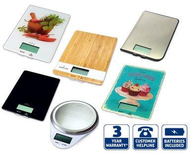 Crofton Digital Kitchen Scales £6.99 @ Aldi