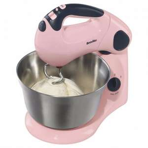 Breville VFP058 Pick & Mix Strawberry Stand Mixer at Tesco Direct for £40 was £80